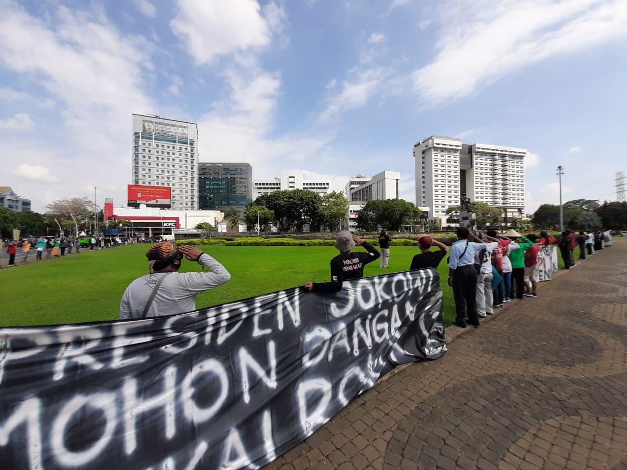 Tolak Kenaikan Cukai Rokok, APTI Gelar Aksi Damai di Istana