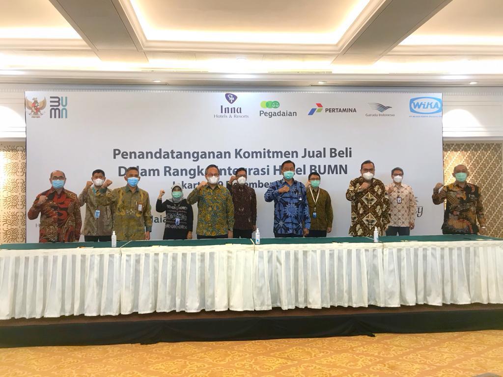 Holding BUMN Hotel Sudah di Depan Mata, Wika Realty Ambil Alih 49 Persen Saham Hotel Milik Pertamina