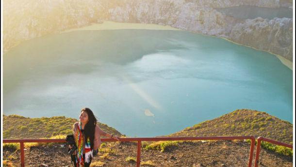 Firsta Yunida: Kelimutu, Destinasi Wisata yang Luar Biasa Indah