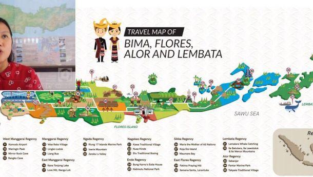 Direktur Utama Otorita Labuhan Bajo-Flores, Shania Fatina:  'Destinasi Super Premium Adalah Arahan Bapak Jokowi'