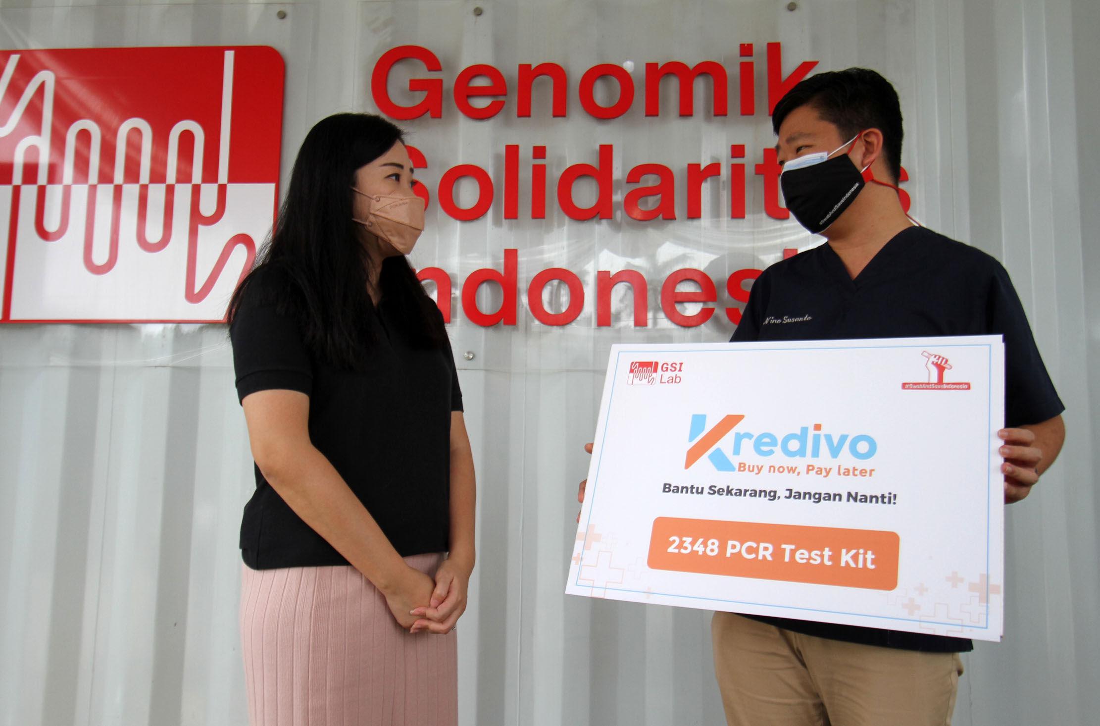 Kredivo Gandeng GSI Lab Perluas Tes PCR