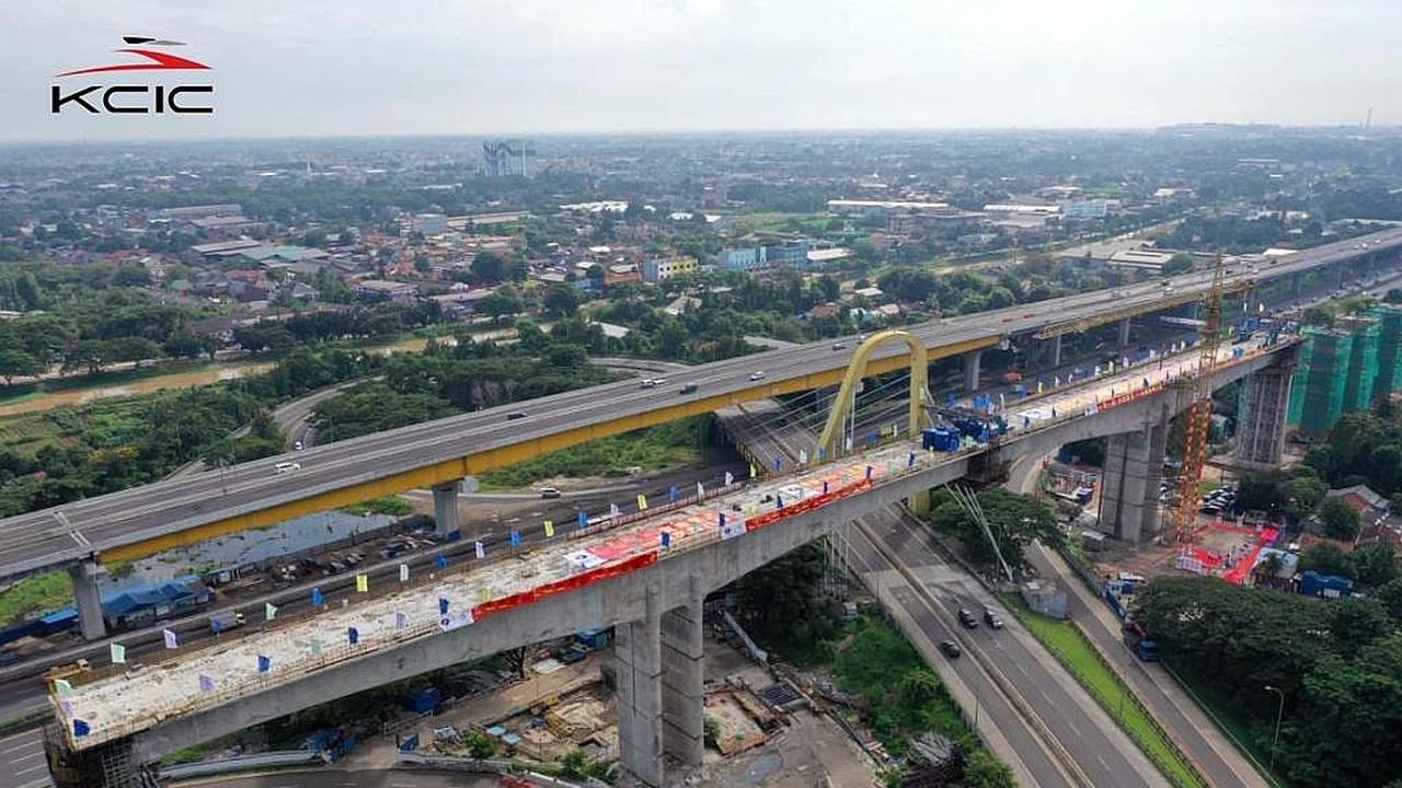 Mendapat Kritik Tajam, KCIC Sebut Pembangunan Kereta Cepat Jakarta-Bandung Sudah 79 Persen
