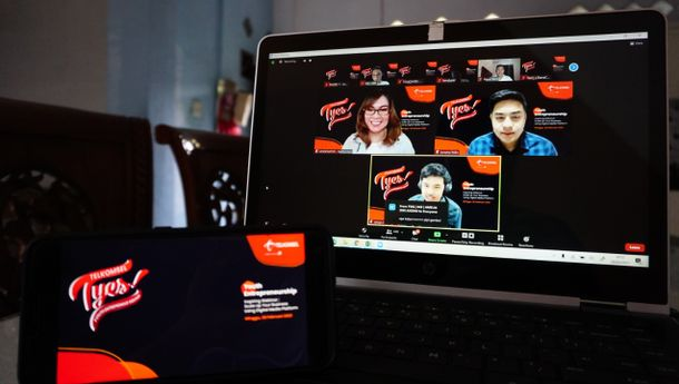 Inspiring Webinar, Telkomsel Dorong Pertumbuhan Digipreneur Mahasiswa hingga Pelajar Sumatra