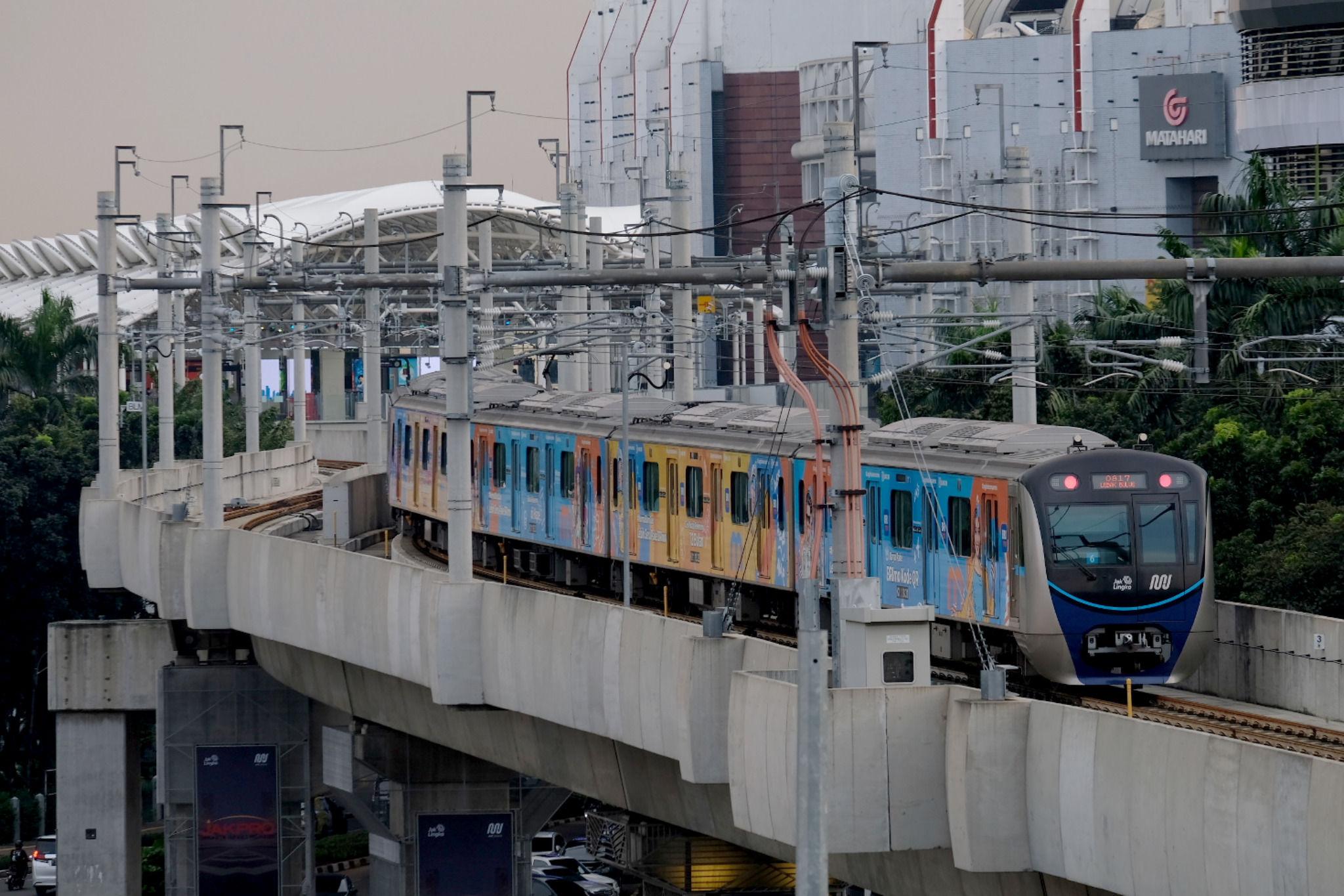 Jakarta Mulai Longgar, Jumlah Penumpang MRT Meroket 145 Persen selama PPKM Level 3