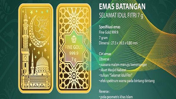 Antam Hadirkan Emas Edisi Lebaran untuk THR