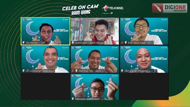 Telkomsel Hadirkan Baim Wong Berbagi Tips Jadi Konten Kreator, Simak Yuk!