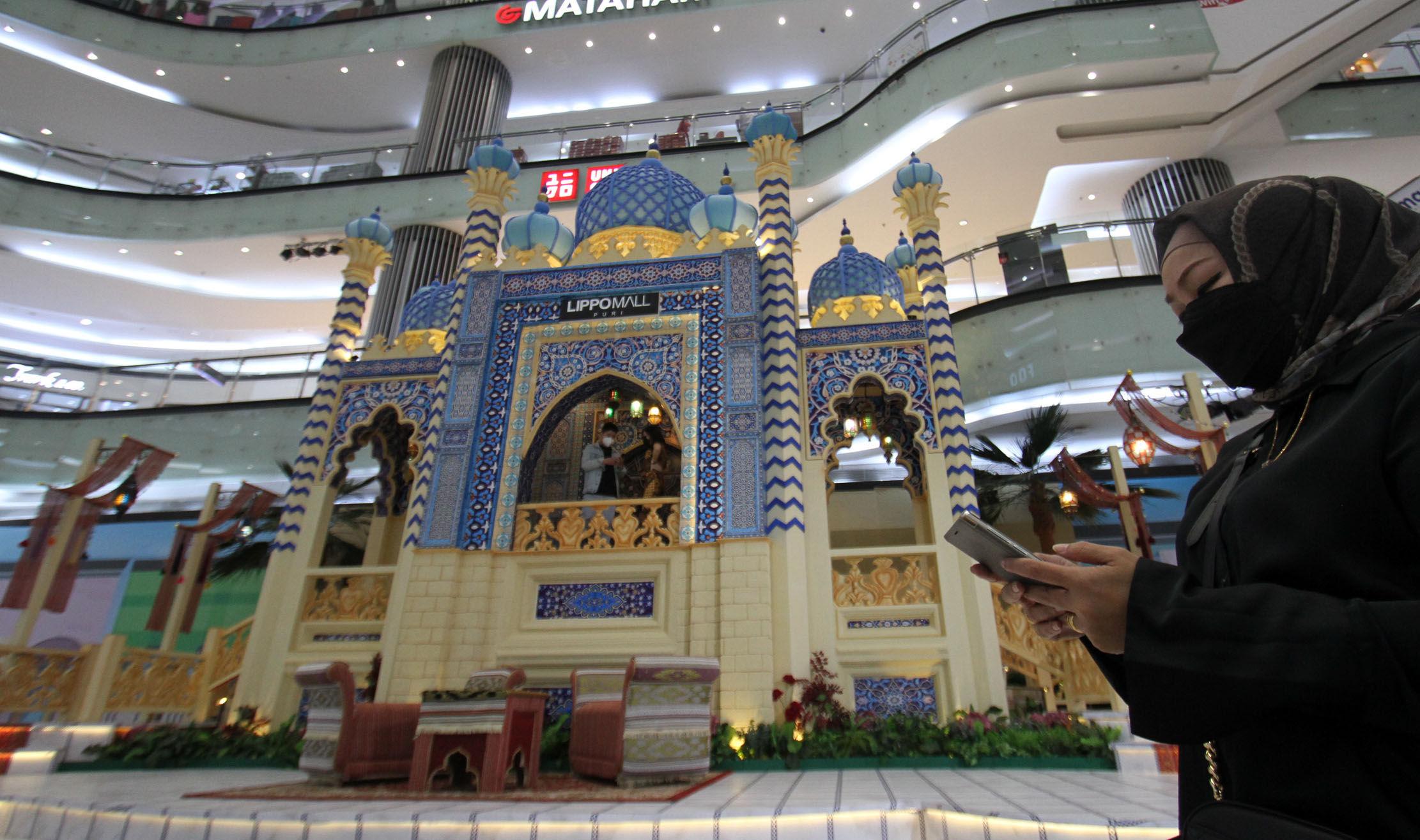 Kemeriahan Ramadhan, Lippo Mall Puri Suguhkan Dekorasi Nuansa Timur Tengah