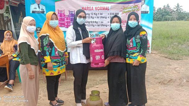 102 ASN Mesuji Ikut Program Trade In LPG Non Subsidi Pertamina