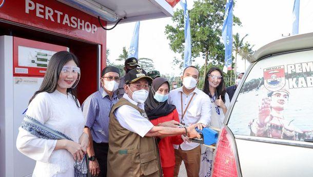 Pertashop Pertamina Hadir di Desa Buko Poso