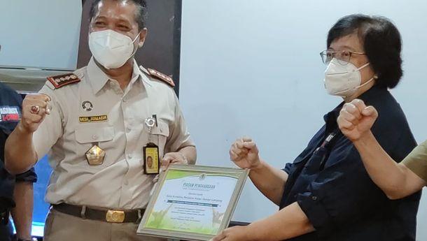 Menteri LHK Apresiasi Kinerja Karantina Pertanian Lampung