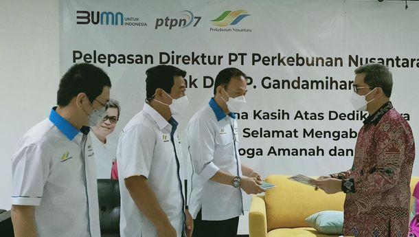 Direktur PTPN VII Pindah Tugas ke PTPN Holding