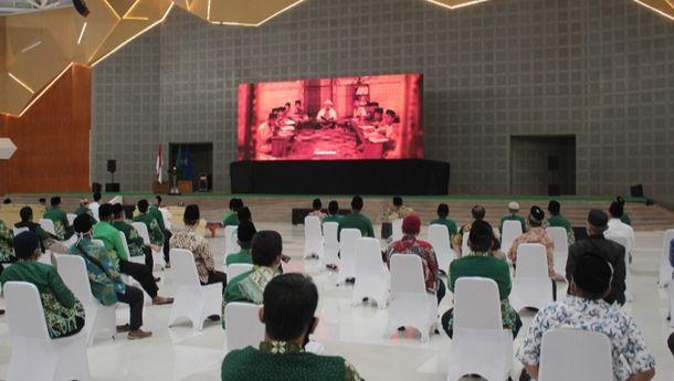 UMS Nobar Film 'Jejak Langkah Dua Ulama' Kisah Persahabatan dan Perjuangan Pendiri Muhammadiyah dan NU