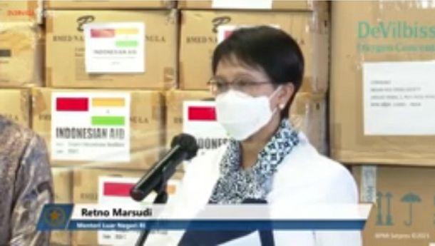 Wujud Solidaritas, Indonesia Kirim Bantuan Penanganan Pandemi COVID-19 ke India