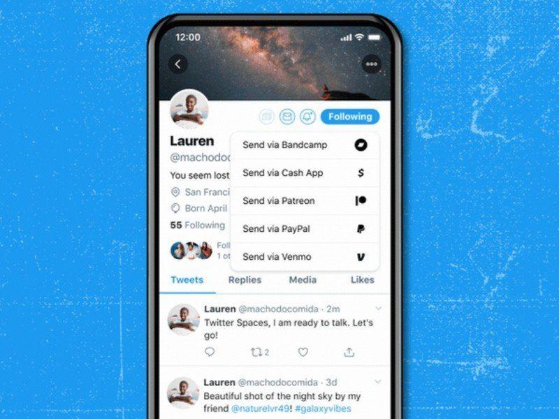 Twitter Luncurkan Tip Jar, Mudahkan Pengguna Dapat Uang Lewat Tip dari Followers