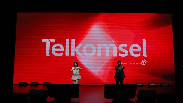 Telkomsel Perkenalkan Logo Baru, Perubahan #BukaSemuaPeluang