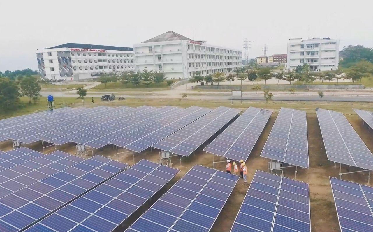 Target COD Tahun Ini, Pembangunan PLTS Sei Mangkei Sudah 89 Persen