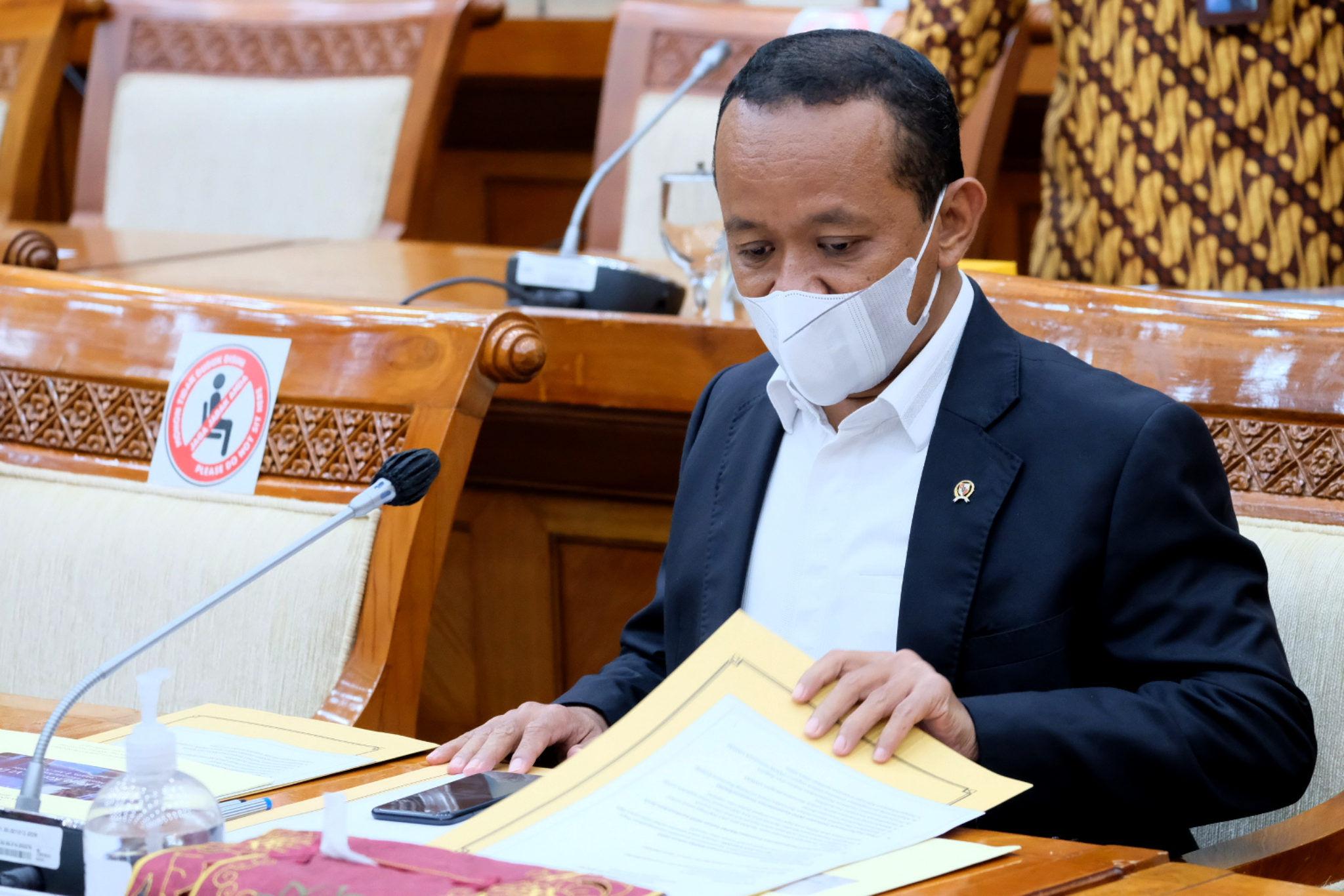 Bahlil Sebut Anggaran Kementerian Investasi 2022 Capai Rp1,3 Triliun