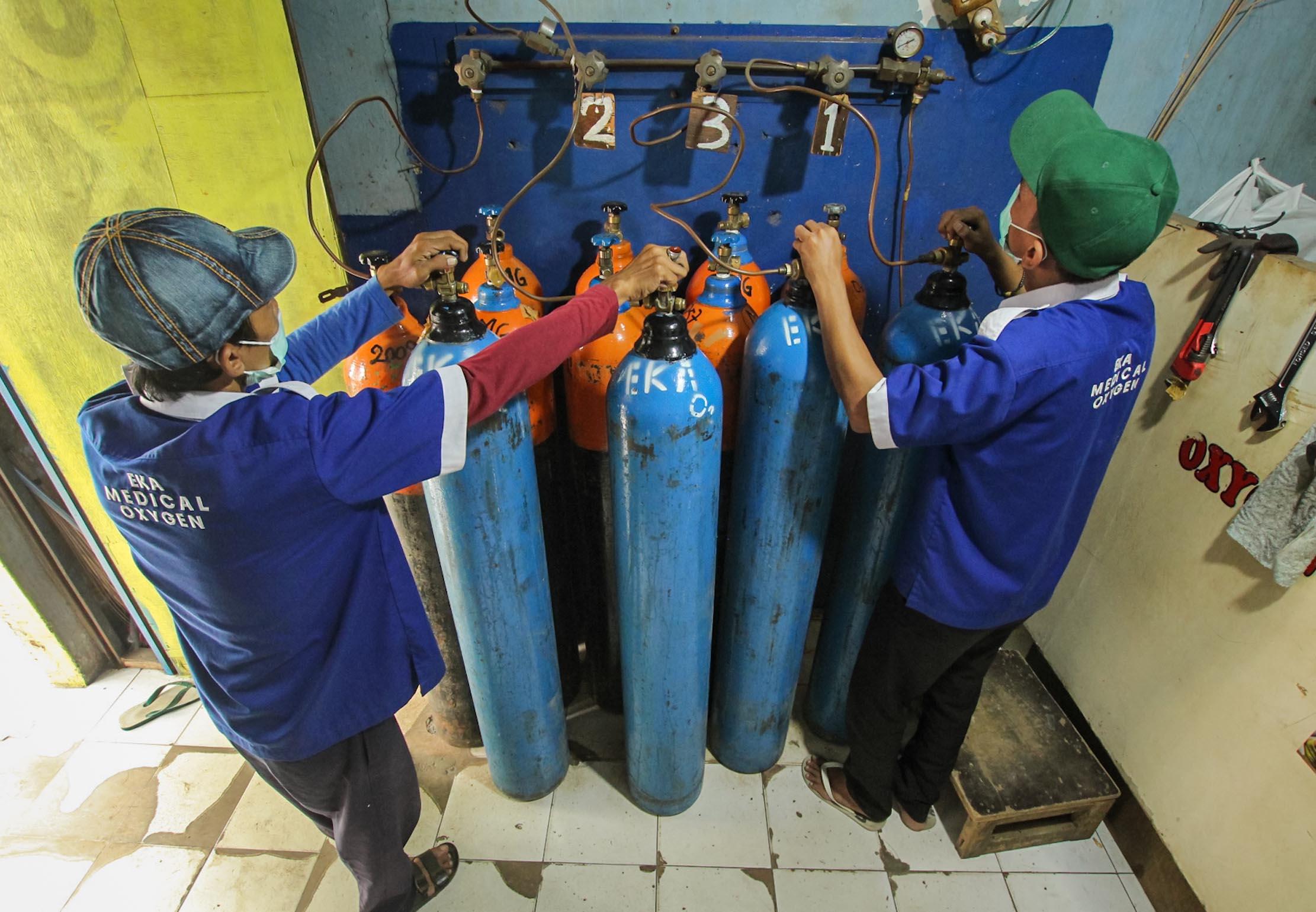 Pemerintah Konversi 90 Persen Gas Oksigen Industri untuk Medis, Total 575 Ribu Ton