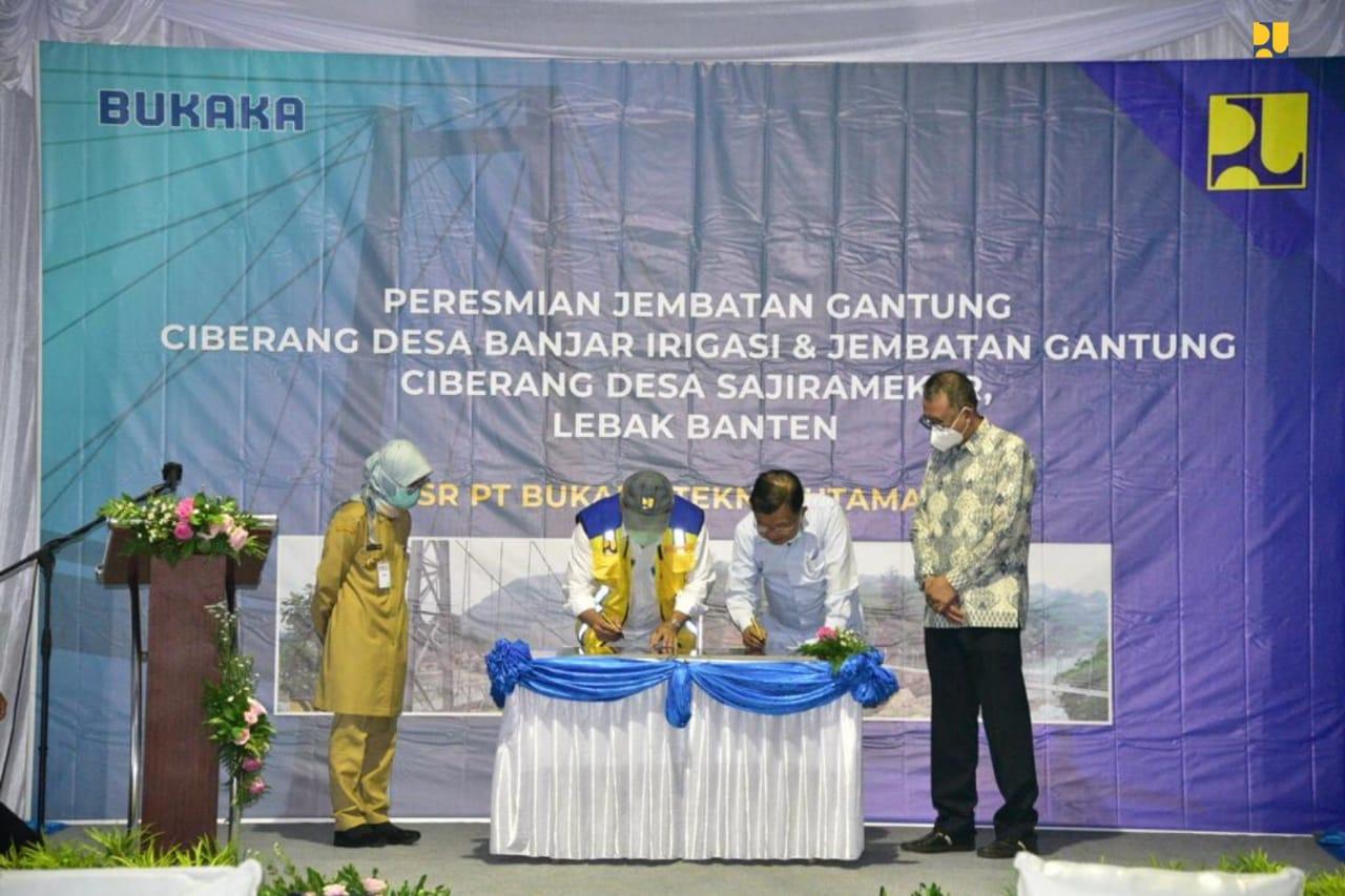 Perbaiki Jembatan di Banten, Kementerian PUPR Gandeng Perusahaan Konstruksi Milik Jusuf Kalla