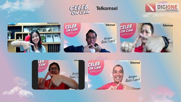 Celeb On Cam Telkomsel Hadirkan Seleb Tiktok Bulan Sutena
