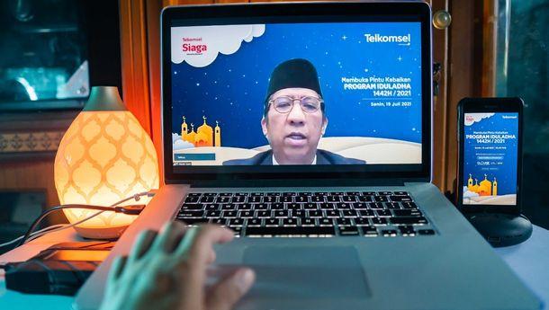 Rayakan Iduladha, Telkomsel Salurkan 906 Hewan Kurban Hingga Pelosok Negeri