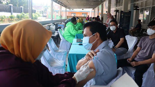 Karyawan PTPN VII Vaksinasi Tahap 2