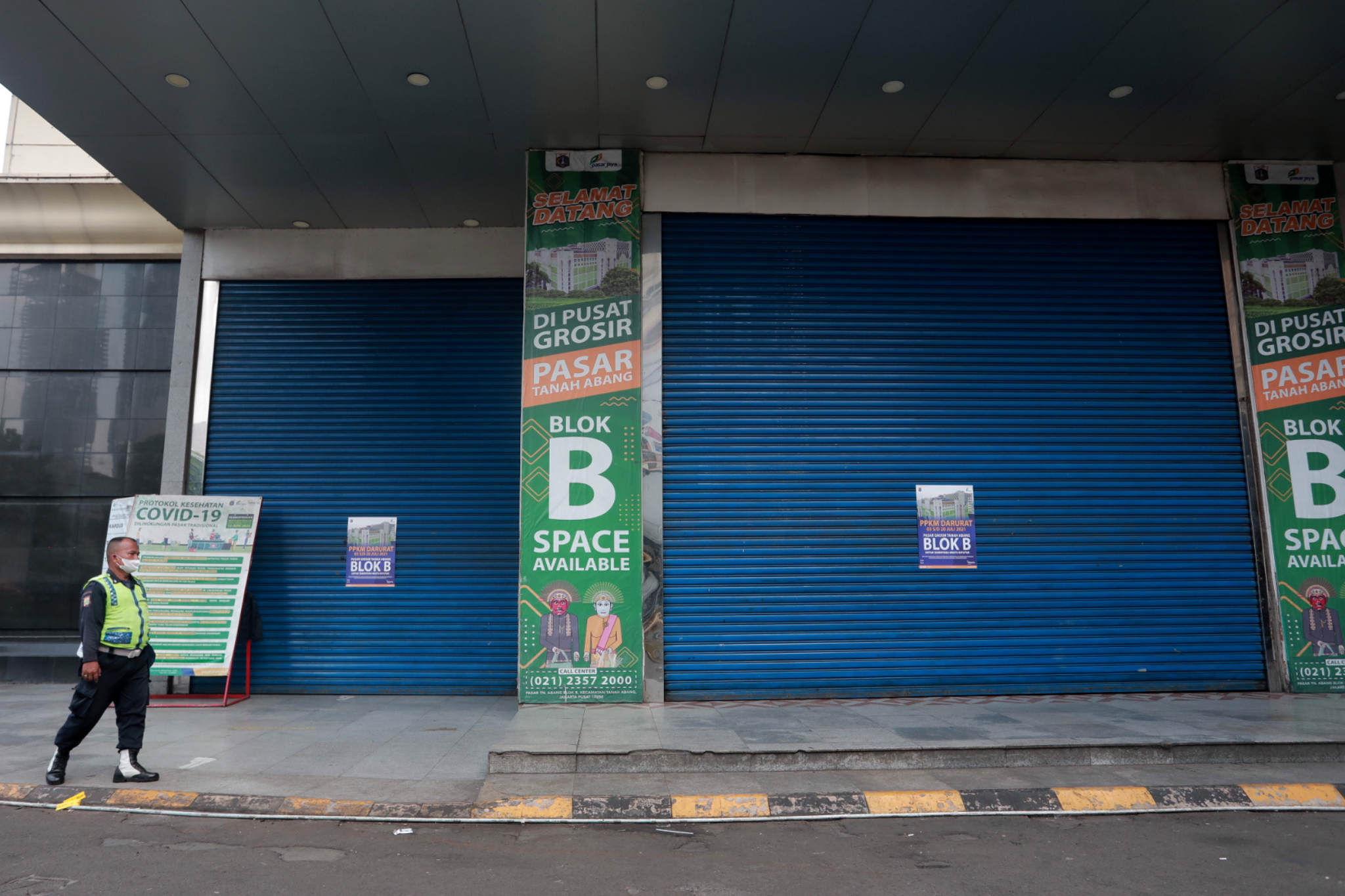 Izin Jam Buka Usaha setelah PPKM Darurat Dibuka Bertahap 26 Juli 2021