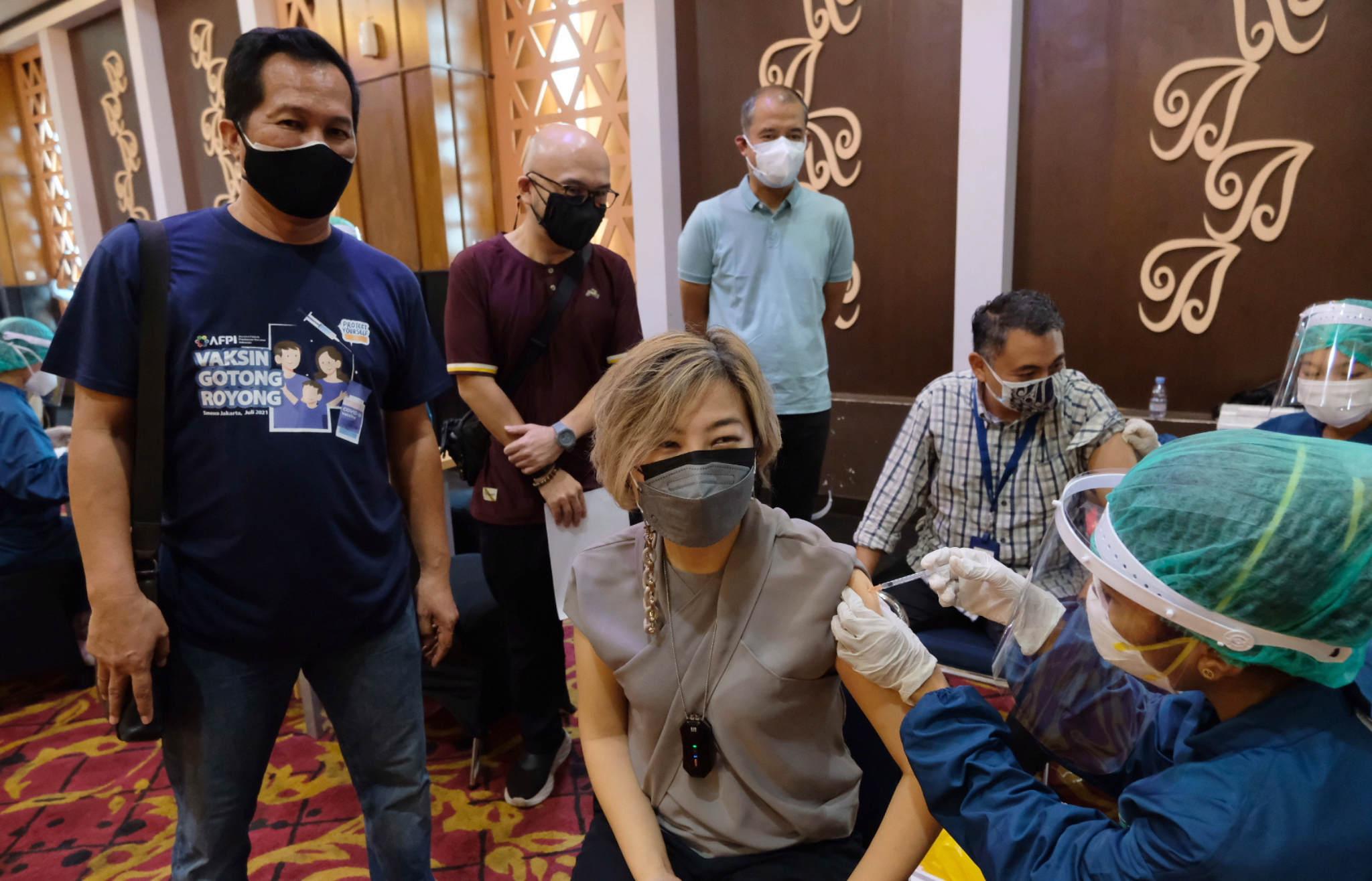 AFPI Gelar Vaksin Gotong Royong untuk Ribuan Vaksinator