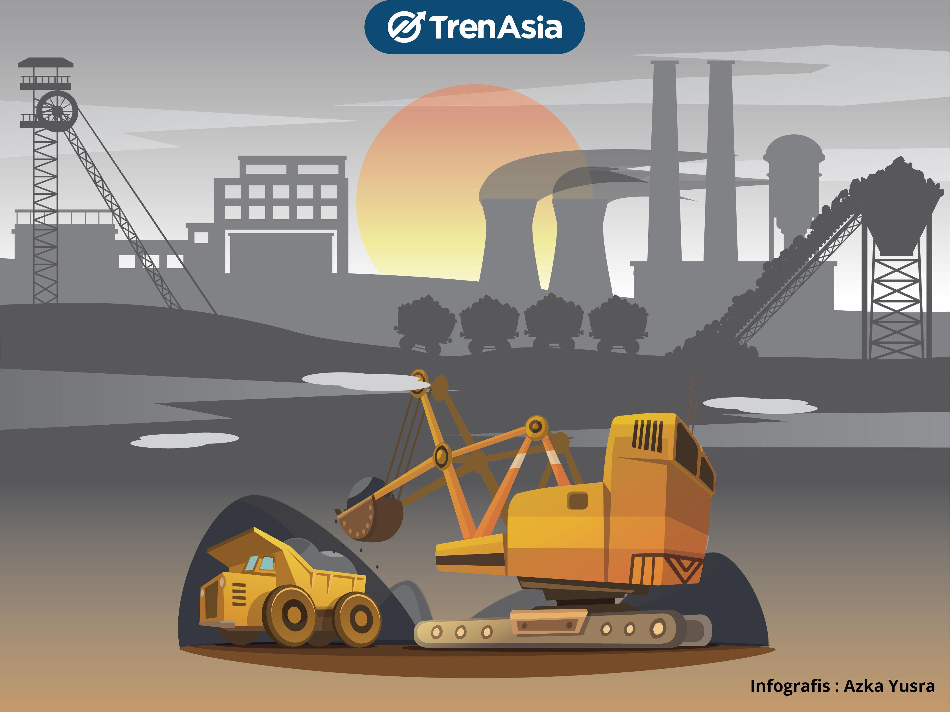Harga Batu Bara Diprediksi Tembus US$190 pada Kuartal IV-2021, Emiten Makin Cuan?