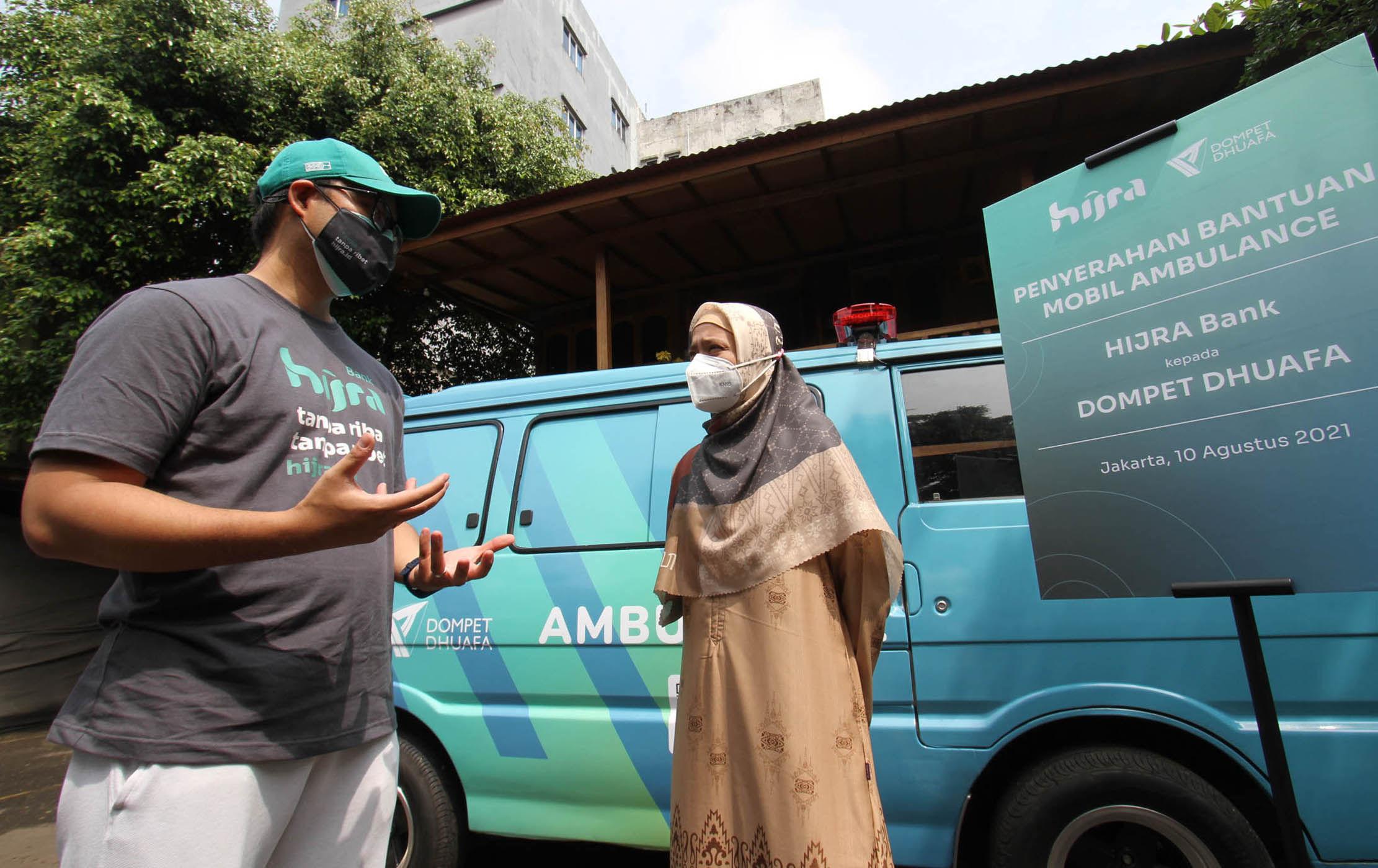 Donasi Ambulans Untuk Dompet Dhuafa