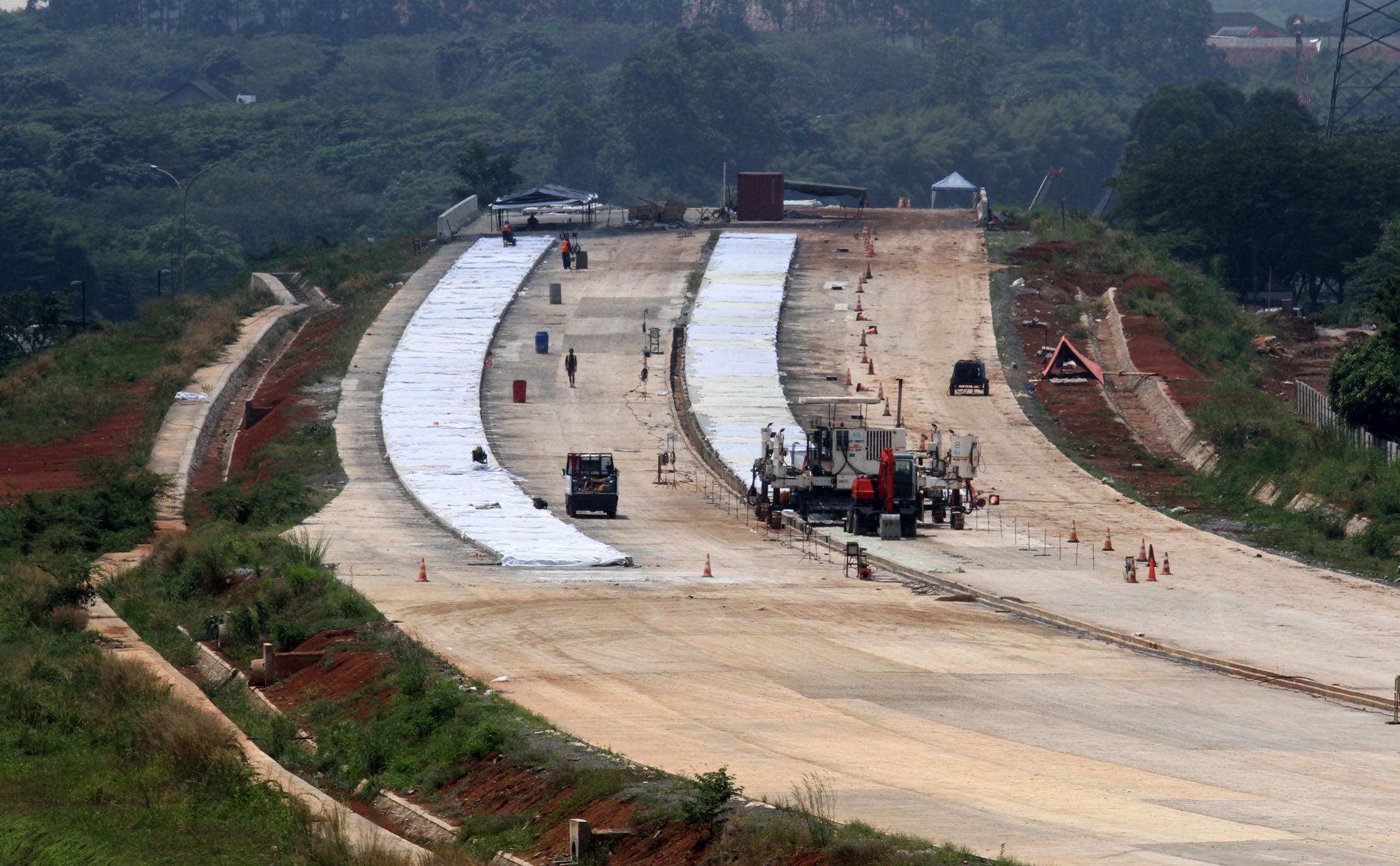 Telan Investasi Rp14,37 Triliun, Konstruksi Jalan Tol Serpong – Balaraja Ditargetkan Rampung Akhir 2021