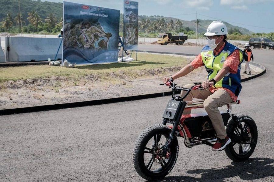 Sandi Uno Pastikan Prakondisi COVID-19 Terpenuhi Jelang World Superbike di Sirkuit Mandalika