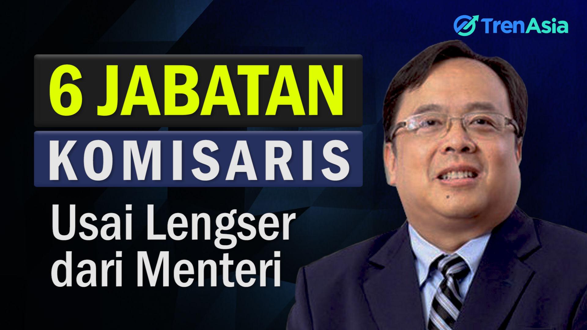 Bambang Brodjonegoro Duduki 6 Kursi Komisaris Usai Lengser dari Menteri