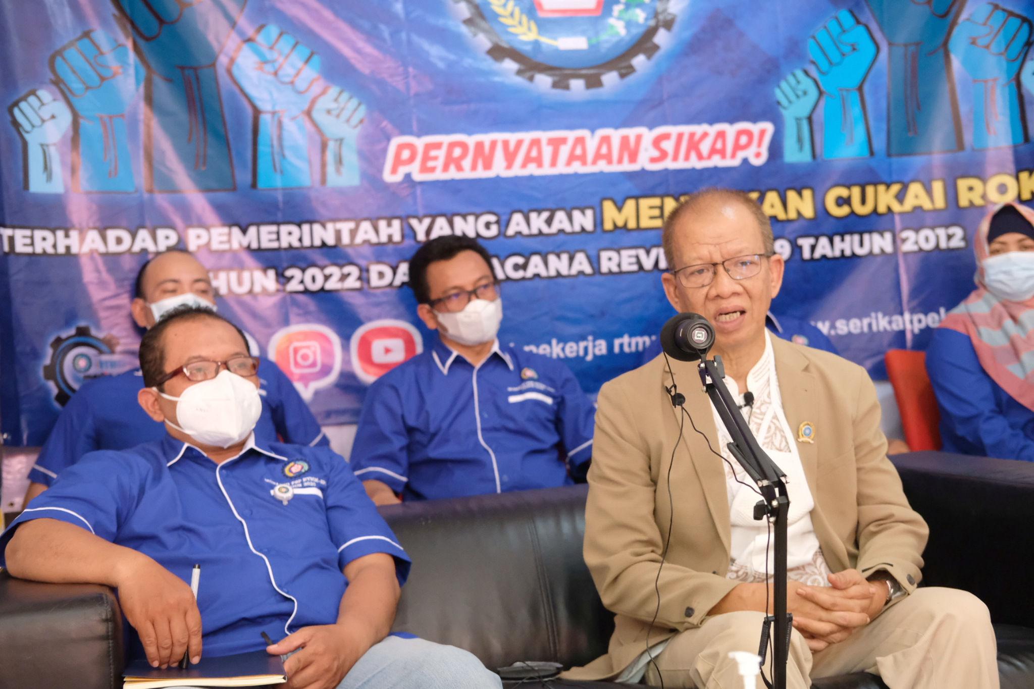 Surati Presiden Jokowi, Serikat Pekerja Tembakau Minta Perlindungan Dari Kenaikan CHT