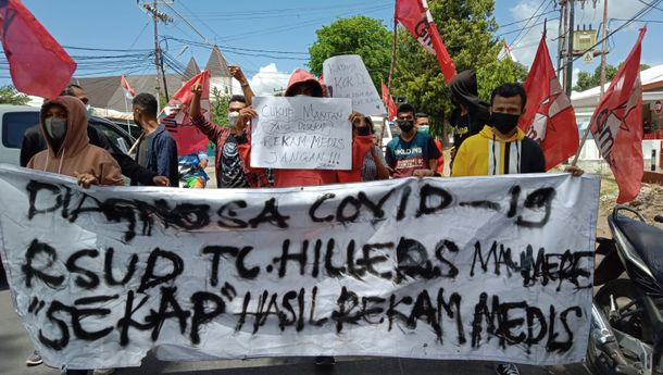 Isu Pengcovidan di Sikka, GMNI Cabang Sikka: RSUD TC. Hillers 'Sekap' Rekam Medis Pasien Covid-19