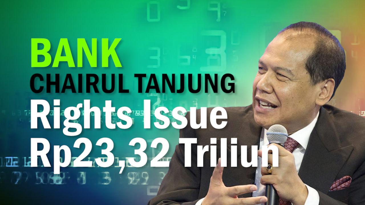 Rights Issue, Allo Bank Milik Chairul Tanjung Potensi Raup Dana Rp23,32 Triliun