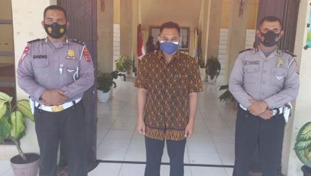Kepala SMAK Negeri St.Thomas Morus Ende Apresiasi  Vaksinasi 'Go to School' Polres Ende