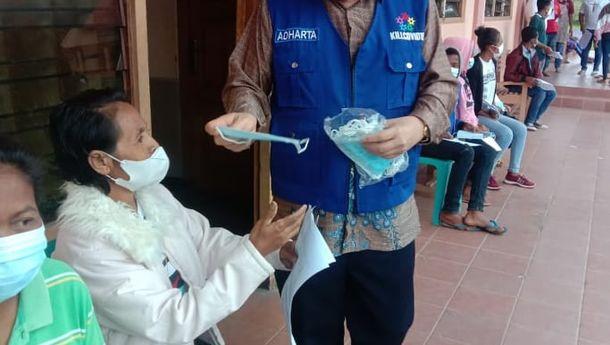 KILL COVID Ngada Selenggarakan Vaksin Dosis  Pertama di Kemah Tabor Mataloko