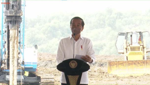 Jokowi Groundbreaking Pabrik Baterai Listrik IBC-LG dengan Investasi  Rp15,67 Triliun