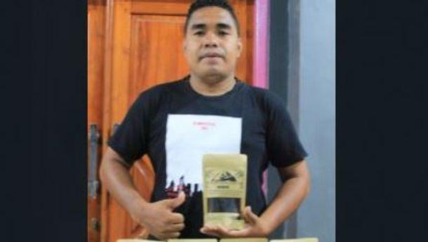 Spirit Fian Gego Perintis Brand 'Kopi Ebulobo' Jenis Robusta.