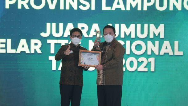 Lampung Juara Umum Teknologi Tepat Guna Nasional pada Gelar TTGN XXII 2021