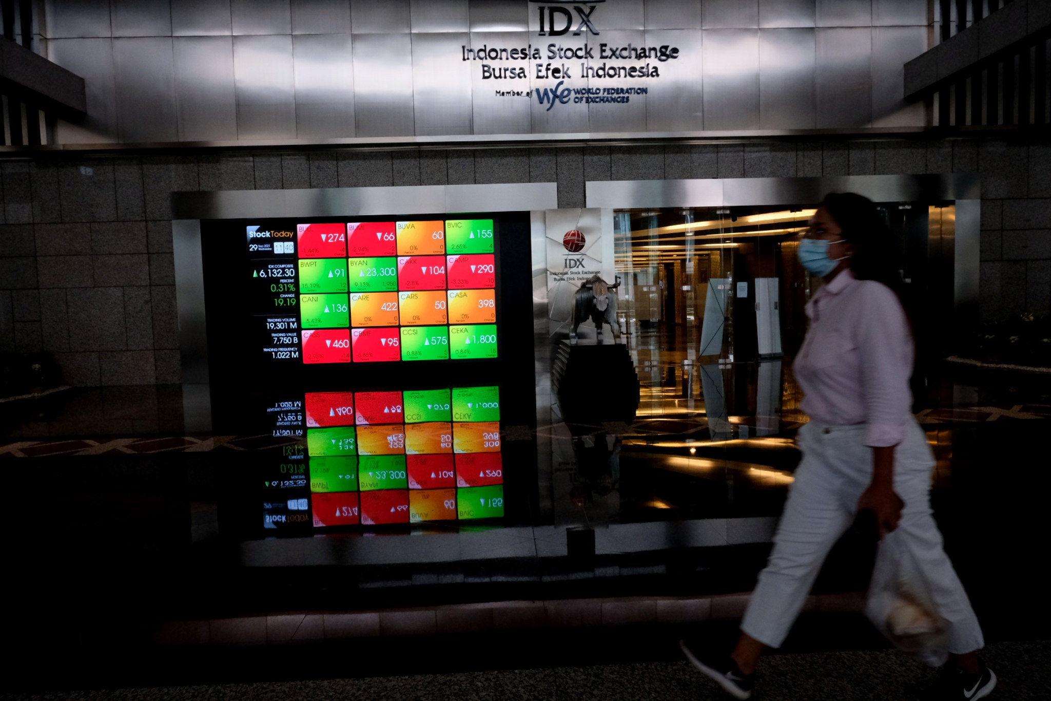 IHSG Ditutup Menguat 0,81 Persen Seiring Aksi Beli Jumbo Investor Asing