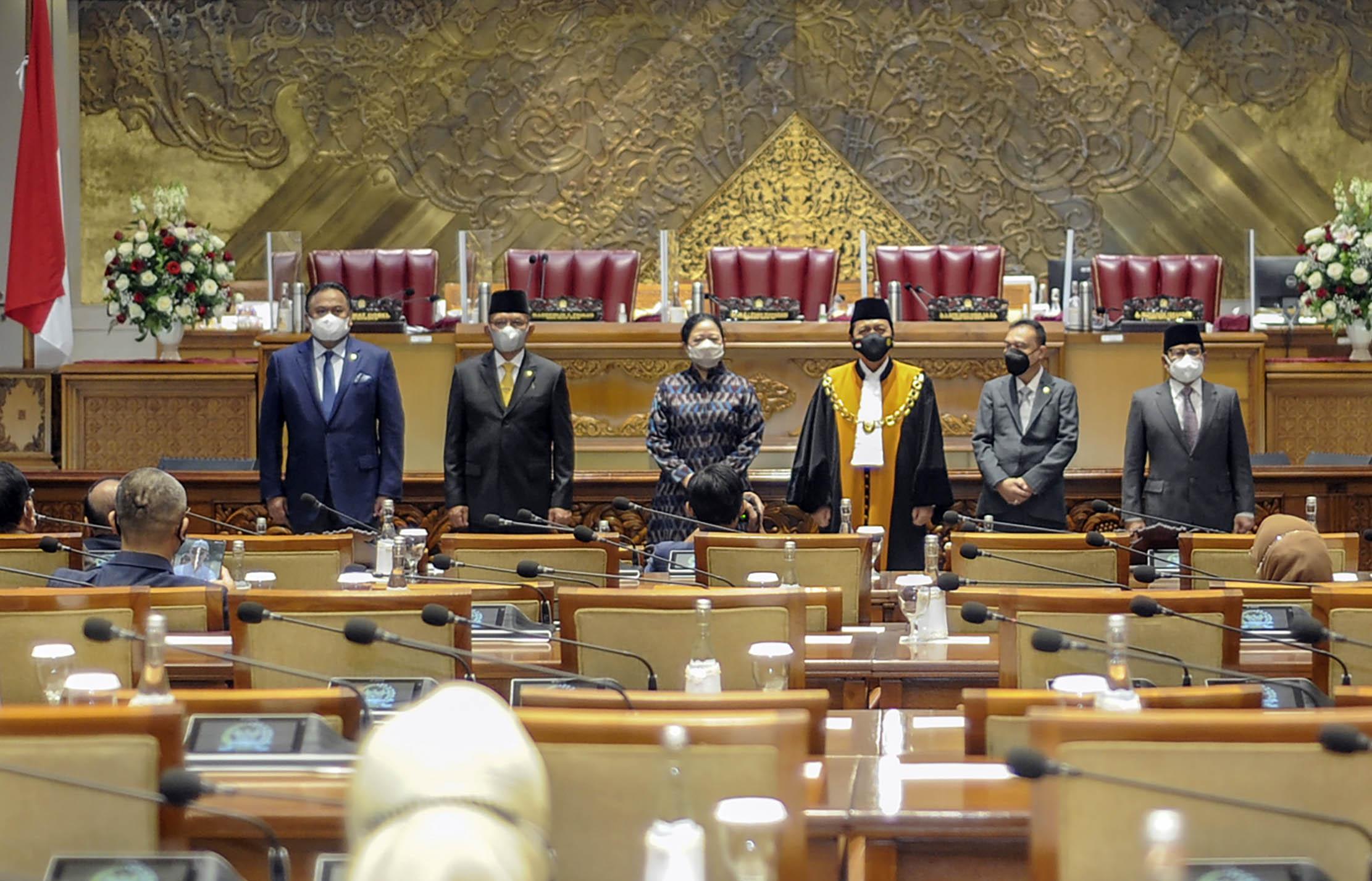 Paripurna DPR Tetapkan Lodewijk F. Paulus sebagai Wakil Ketua DPR RI