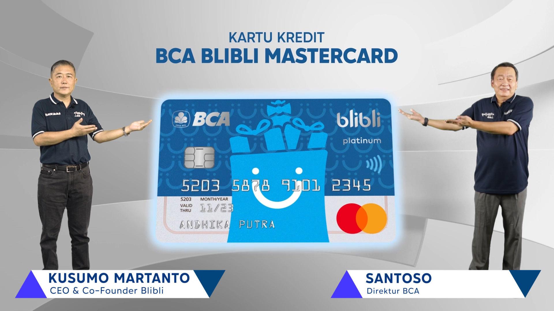 Gandeng BCA, Blibli Jadi e-Commerce Pertama yang Punya Kartu Kredit Mastercard