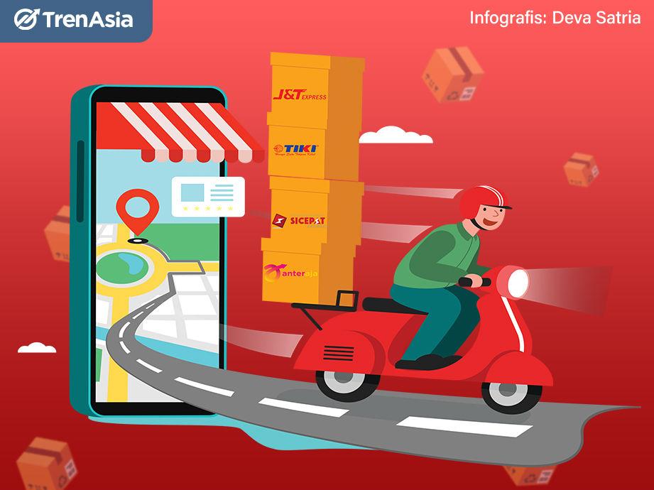 Pakeet! Belanja Online Makin Ngetren, Bisnis Start Up Logistik Kian Beken