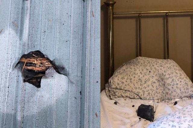 Nyaris Menghantam Kepala, Meteorit Jatuh di Ranjang Seorang Wanita Kanada