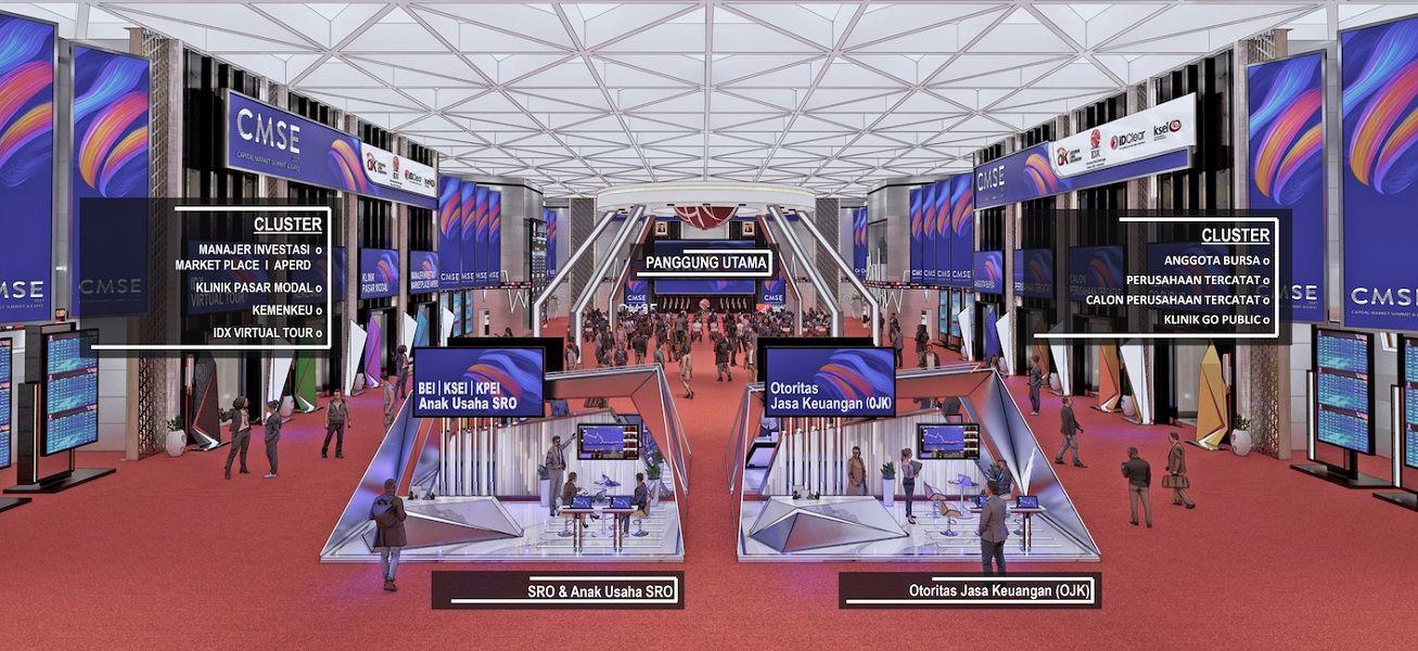 CMSE 2021 Catat Rekor 3 Juta Investor Pasar Modal Indonesia