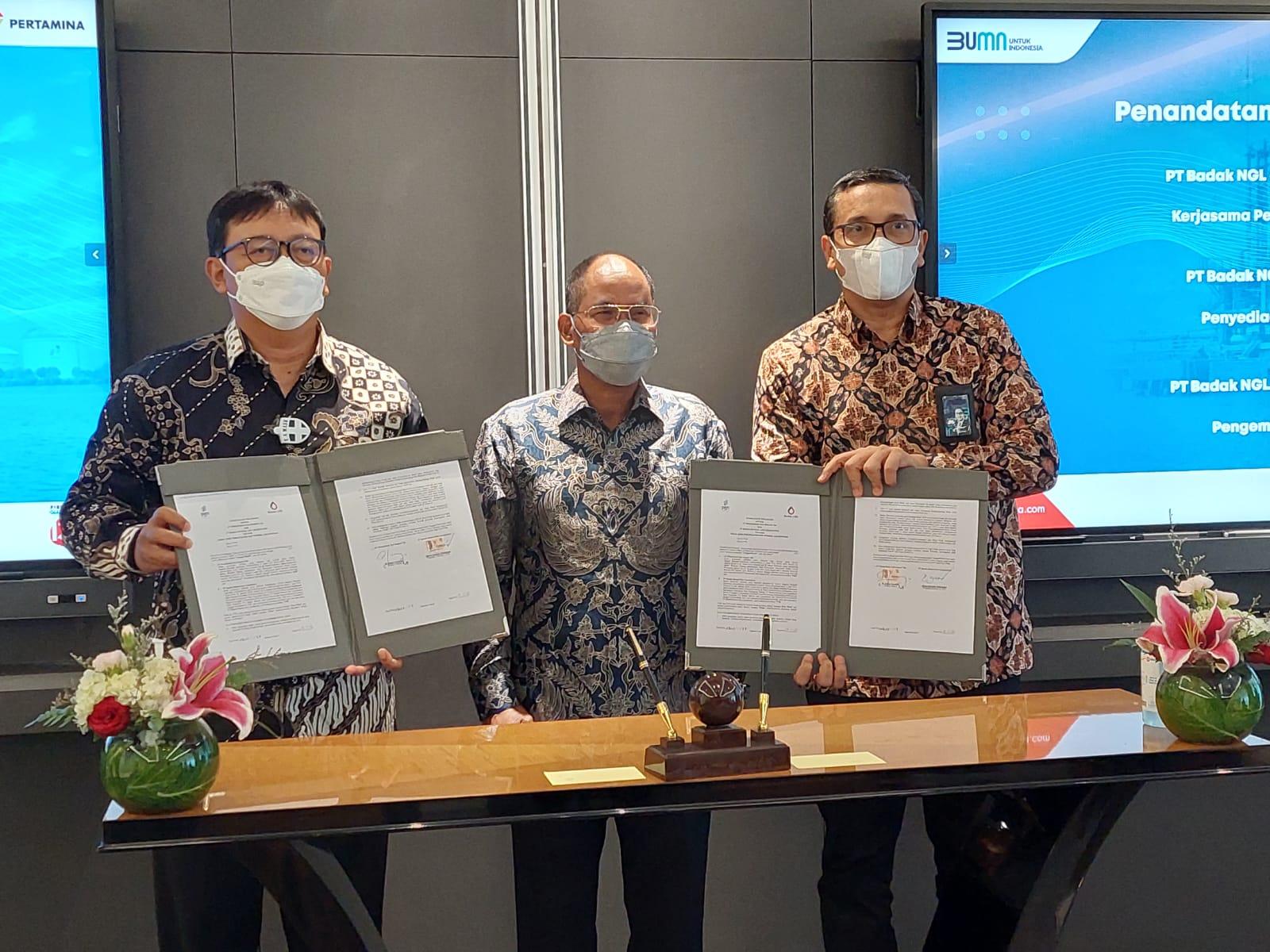 Subholding Gas Pertamina Gandeng PT Badak NGL Perkuat Bisnis LNG Melalui Pemanfaatan Hub Terminal LNG Bontang