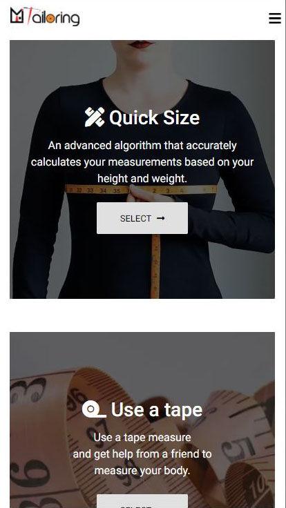Mi-Tailoring-Software-Measurement-Choose-Mobile-View