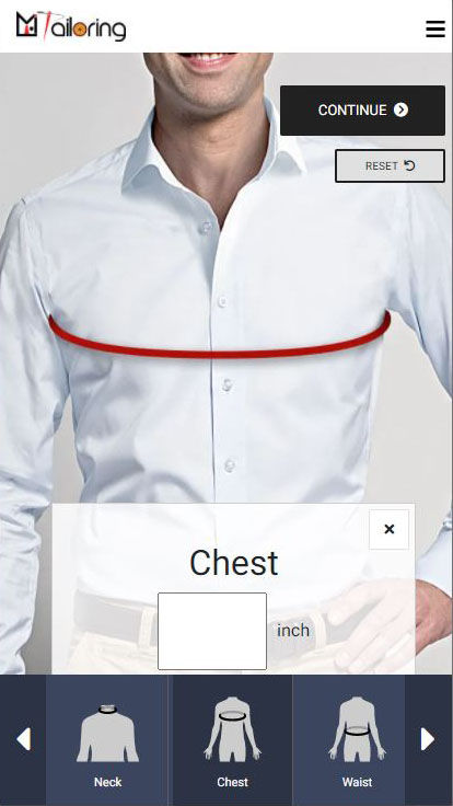 Mi-Tailoring-Software-Measurement-Mobile-View